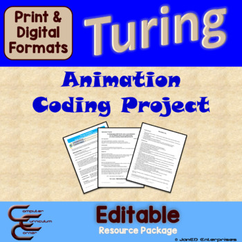Turing 3 B Animation Culminating Activity