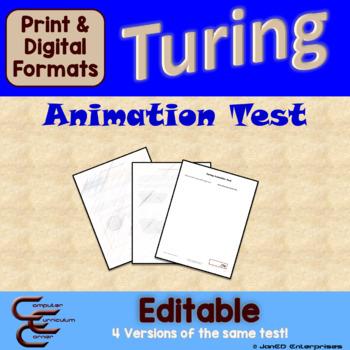Turing 3 C Animation Test