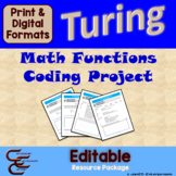 Turing 5 C Math Functions Culminating Activity