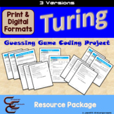 Turing 7 C Conditionals Culminating Activity 3 Version Package