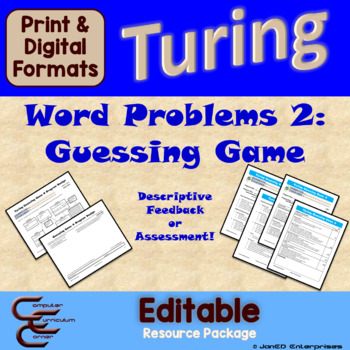 Turing 8 A Guessing Game 4