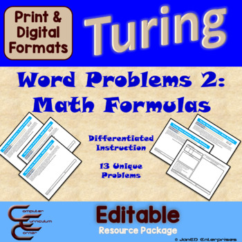 Turing 8 C Math Problems Package