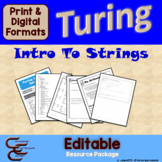 Turing 9 A Intro To Strings