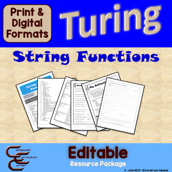 Turing 9 B String Functions Package
