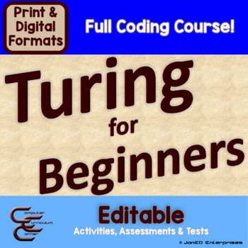Turing Introduction to Programming