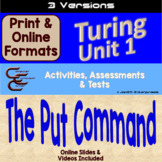 Turing Unit 1 Output 3 Versions