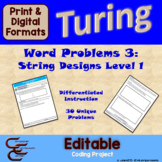 Turing Unit 10 String Problems 3