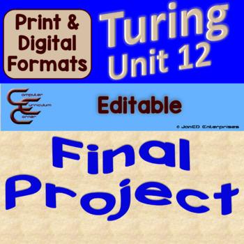 Turing Unit 12 Final Culminating Activity