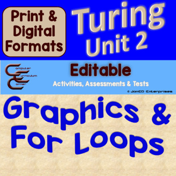 Turing Unit 2 Drawing And For Loops