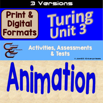 Turing Unit 3 Animation 3 Versions