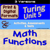 Turing Unit 5 Math Functions 3 Versions