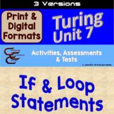 Turing Unit 7 Conditionals 3 Versions