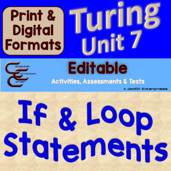 Turing Unit 7 Conditionals