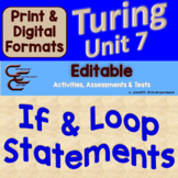 Turing Unit 7 If Statements and Loops ⇨EDITABLE⇦ Unit