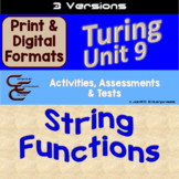 Turing Unit 9 Strings 3 Versions