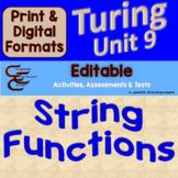 Turing Unit 9 Strings