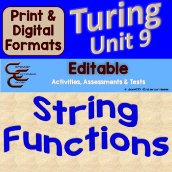 Turing Unit 9 Strings