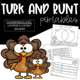Turk & Runt: Compare and Contrast and Sequence