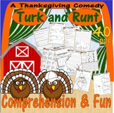 Turk & Runt a Thanksgiving Comedy : Comprehension Book Stu