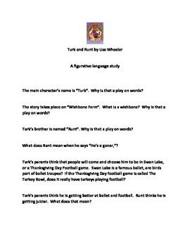 Turk and Runt; A Figurative Language Study