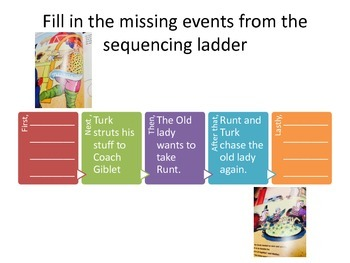Turk and Runt Sequencing Activity