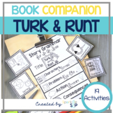 Turk and Runt Book Companion Printable and Google Slides(TM) for Speech Therapy