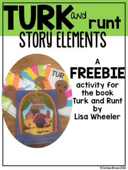 Turk and Runt Story Elements Freebie