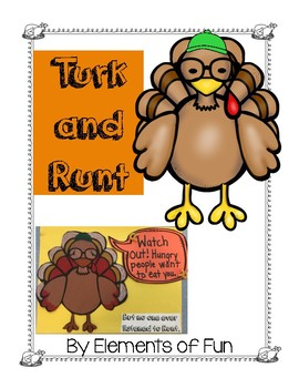 Turk and Runt Thanksgiving Book Response and Activity