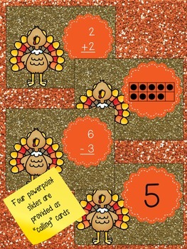 Turkey Bingo - Math