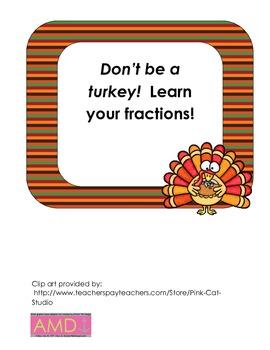 Turkey Fractions