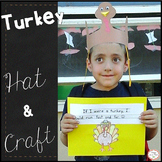 Turkey Hat Craft  Preschool, Kindergarten, first grade