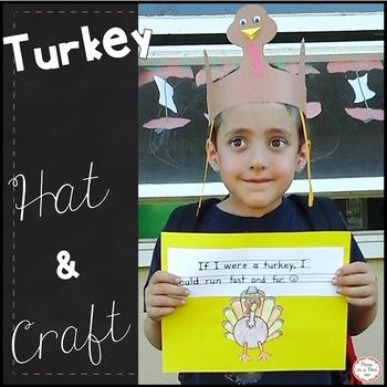 Turkey Hat Craft  Preschool, Kindergarten, first grade