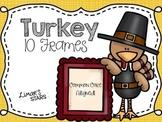 Turkey 10 Frames {Thanksgiving}