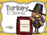 Turkey 10 Frames {Thanksgiving}