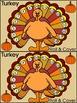 Thanksgiving Turkey Activities: Thanksgiving Turkey Roll &