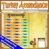 Turkey Attendance Board