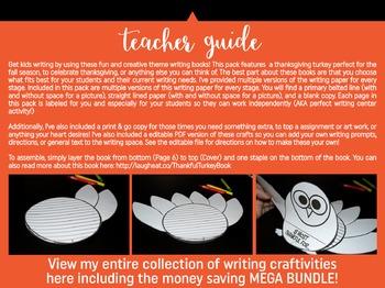Thanksgiving Turkey Writing Craft