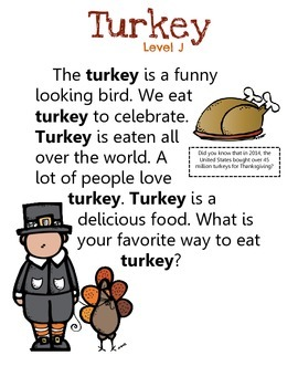 Turkey: A Non-Fiction Text Pack