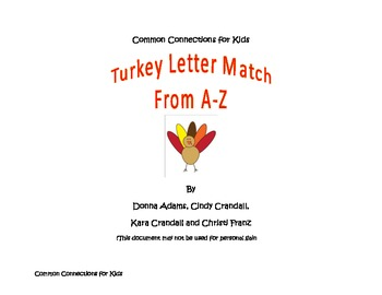 Turkey A-Z Letter Match