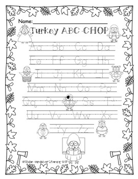 Turkey-ABC Game