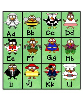 ABC Turkey Game