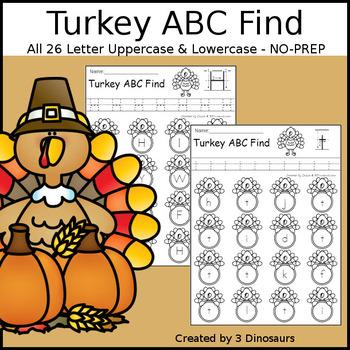 Turkey ABC Letter Find