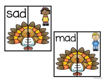Turkey Short Vowels Match (CVC)
