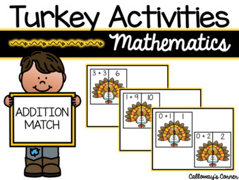 Turkey Activities-Sums and Equations