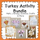 Turkey Activities and Centers Bundle