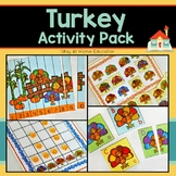 Turkey Activity Pack - 6 Activities