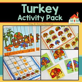 Turkey Activity Pack - 6 Activities