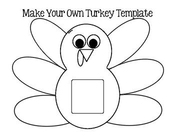 Turkey Activity Template