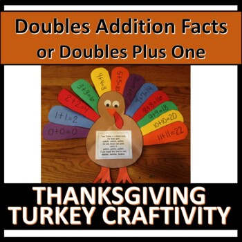 Turkey: Adding Doubles Craftivity