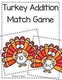 Turkey Addition Match Game